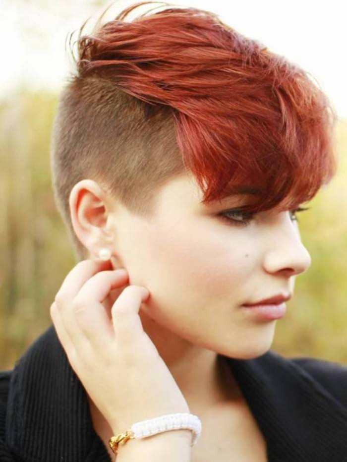 Hairstyles For Undercut  Undercut Hairstyle For Women s The Xerxes