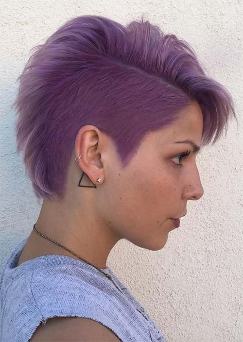 Hairstyles For Undercut  51 Edgy and Rad Short Undercut Hairstyles for Women Glowsly