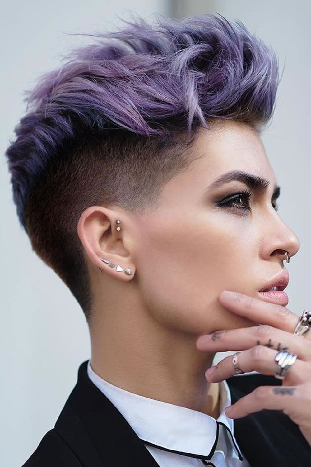 Hairstyles For Undercut  15 Ideas of Undercut Pixie Hairstyles