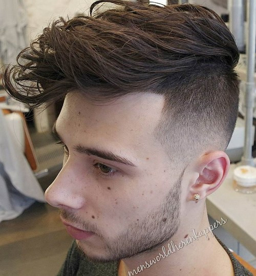 Hairstyles For Undercut  50 Stylish Undercut Hairstyles for Men to Try in 2017