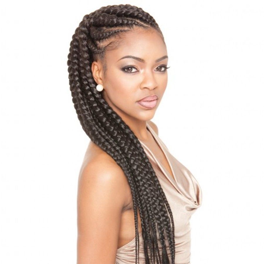 Best ideas about Hairstyles With Jumbo Braid Hair . Save or Pin Hairstyles With Jumbo Braids Now.