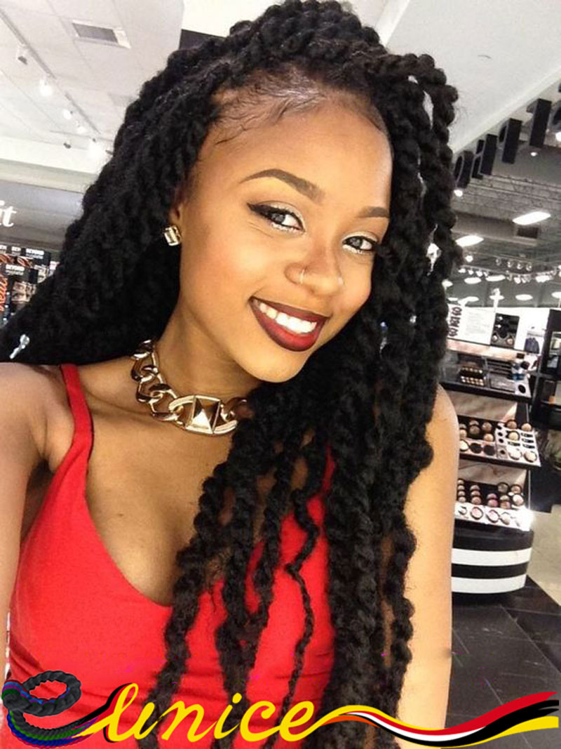 Best ideas about Hairstyles With Jumbo Braid Hair . Save or Pin Jumbo box braids – Amazing Long Term Protective Style Now.