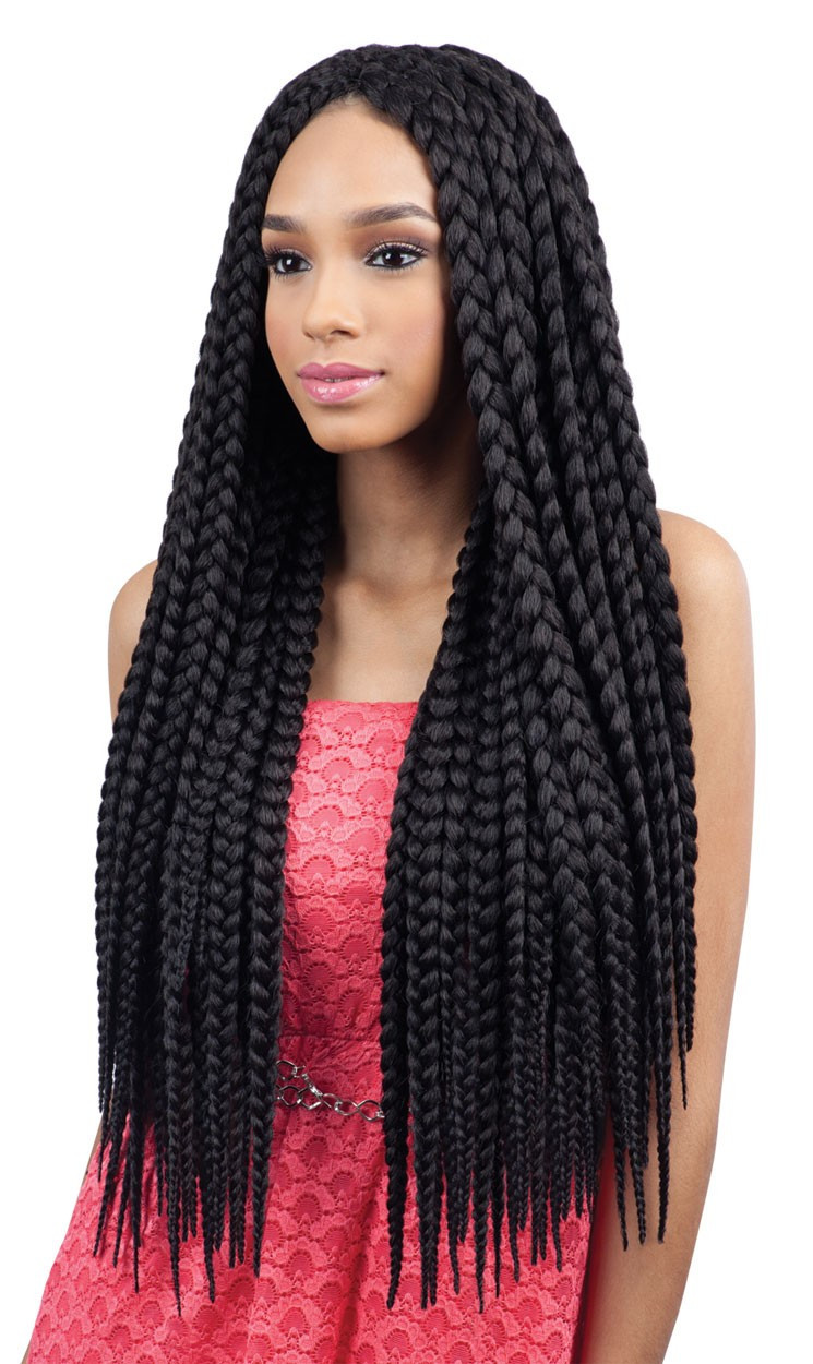 Best ideas about Hairstyles With Jumbo Braid Hair . Save or Pin 11 of the Biggest and Best Jumbo Box Braids Now.