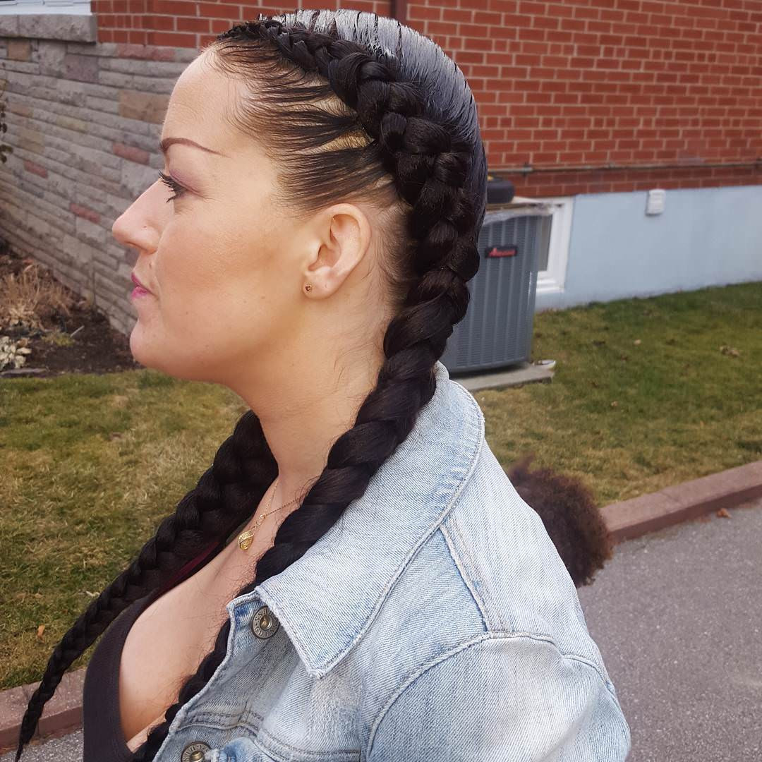 Hairstyles With Two Braids  20 Two Braids Hairstyle Ideas Designs