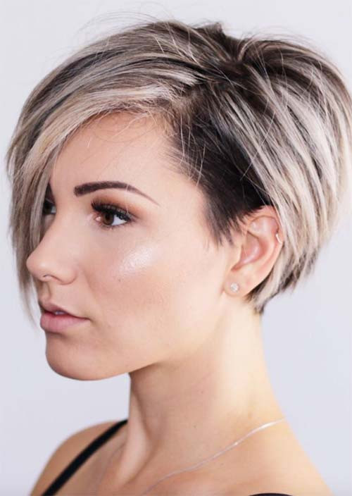 Hairstyles With Undercuts  51 Edgy and Rad Short Undercut Hairstyles for Women Glowsly