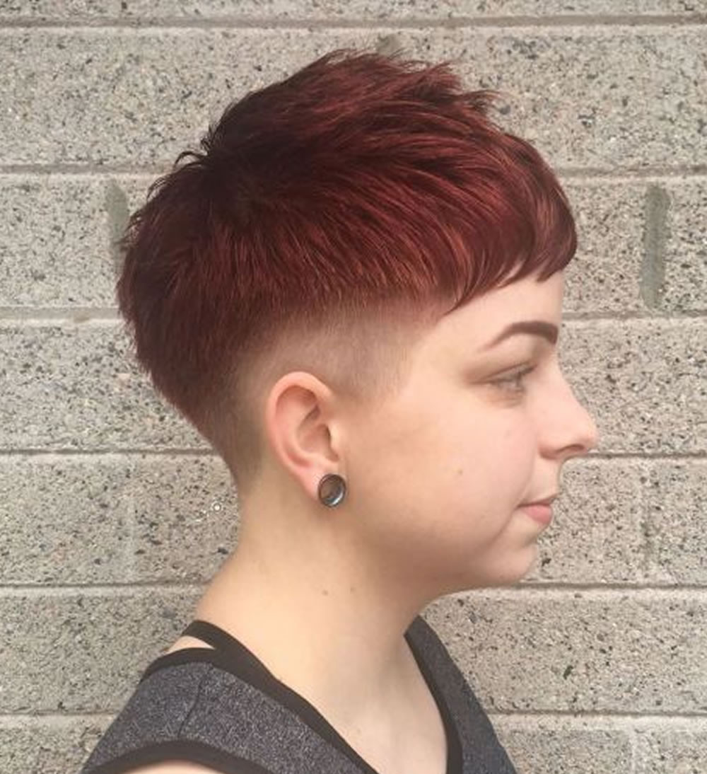 Hairstyles With Undercuts  Undercut Short Pixie Hairstyles for La s 2018 2019