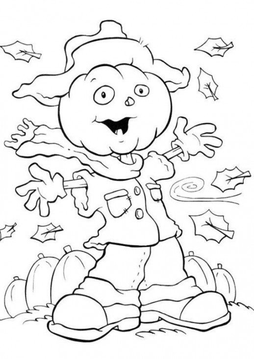 Halloween Coloring Pages For Girls  Cartoon Owl Coloring Pages For Girls