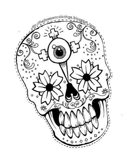 Halloween Coloring Pages For Girls  HALLOWEEN COLORINGS