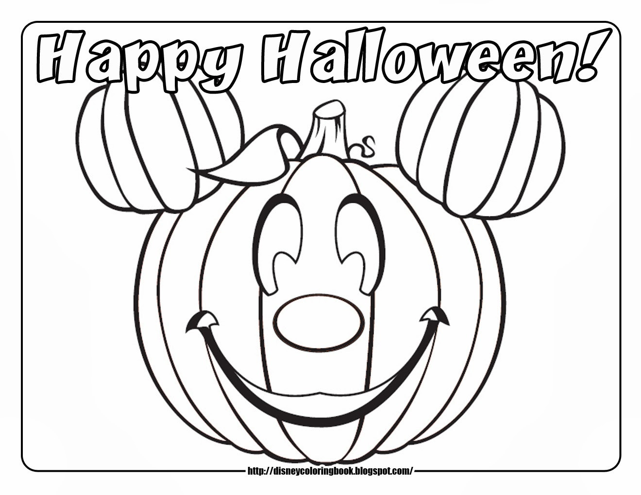 Halloween Free Coloring Pages Printable  Halloween Coloring Pages – Free Printable Minnesota Miranda