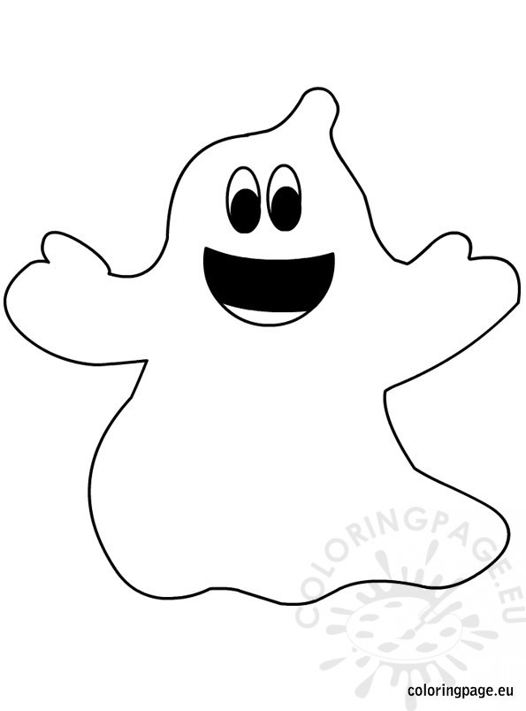 Halloween Ghost Coloring Pages  Halloween Ghost
