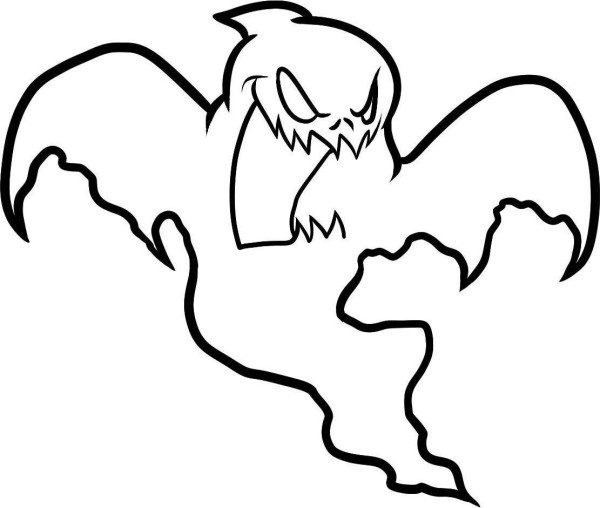 Halloween Ghost Coloring Pages  Halloween Coloring Pages Ghost Ghost Coloring Pages
