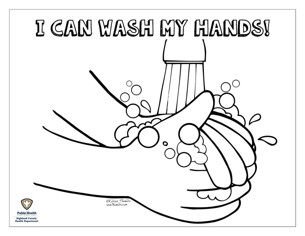 Handwashing Coloring Pages  26 Hand Washing Coloring Pages For Preschoolers Google