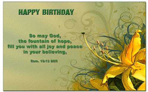 Best ideas about Happy Birthday Bible Quotes . Save or Pin Birthday Bible Verses Quotes QuotesGram Now.