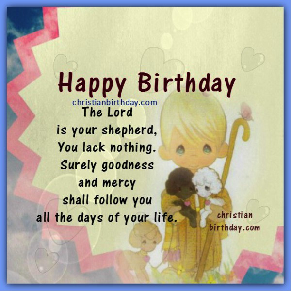 Best ideas about Happy Birthday Bible Quotes . Save or Pin Birthday Bible Verses With – Adult Dating Now.