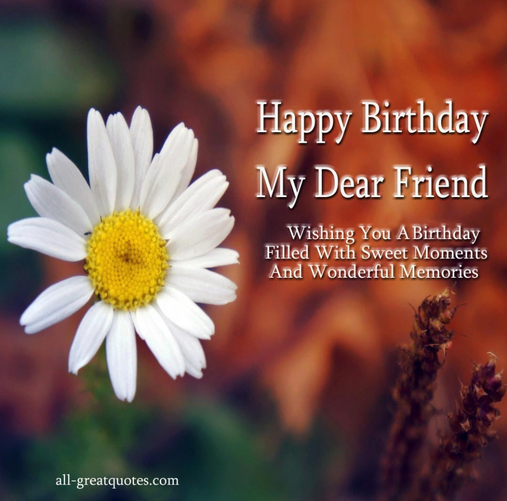 Best ideas about Happy Birthday Friendship Quotes . Save or Pin happy birthday quotes Free Now.