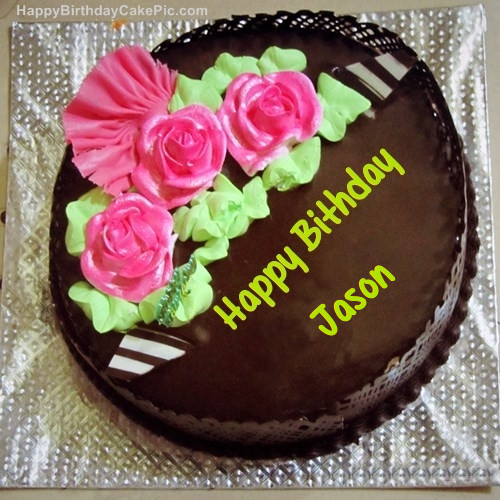 Best ideas about Happy Birthday Jason Cake . Save or Pin Chocolate Birthday Cake For Jason Now.