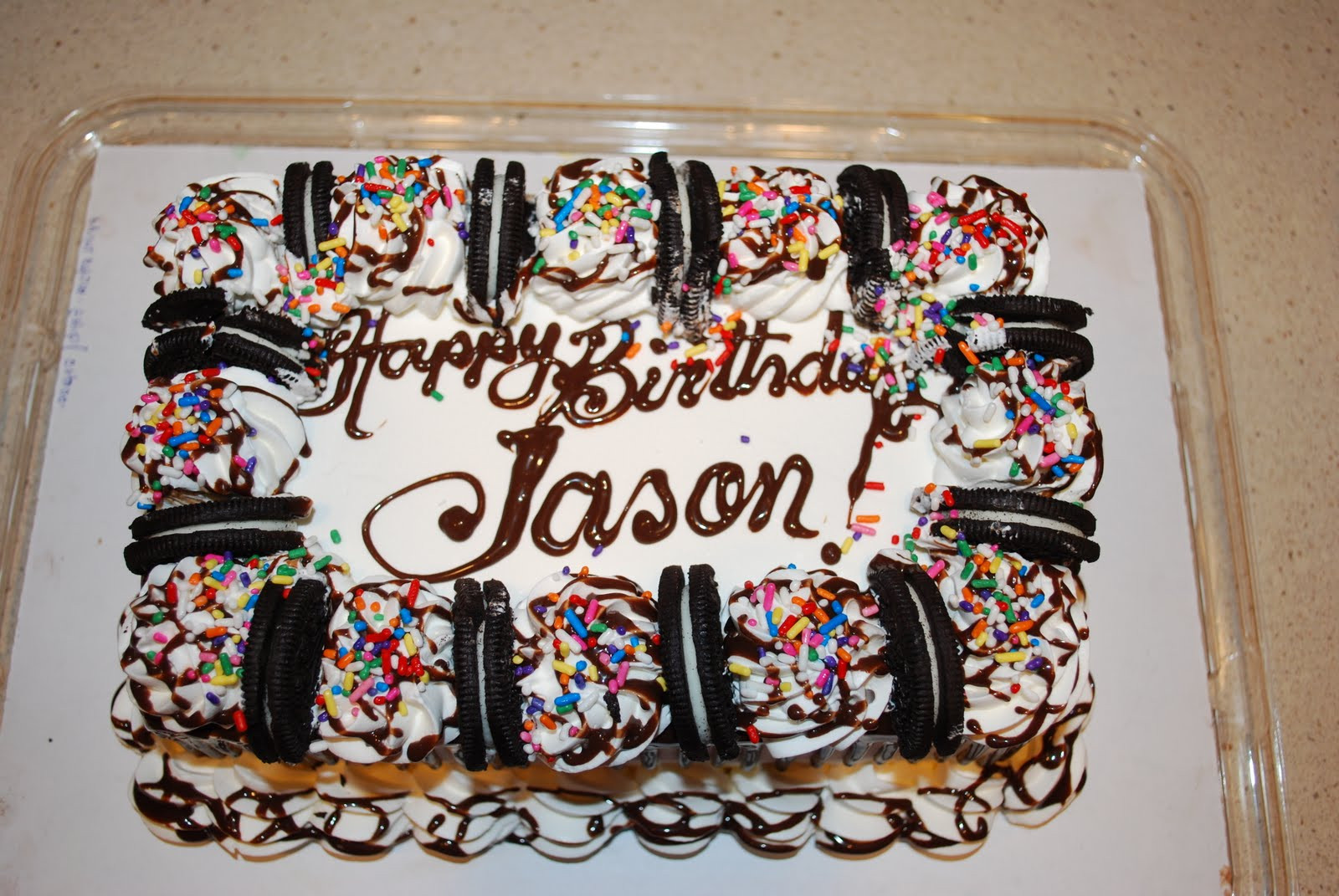 Best ideas about Happy Birthday Jason Cake . Save or Pin Naptime Confessions Happy Birthday Jason Now.