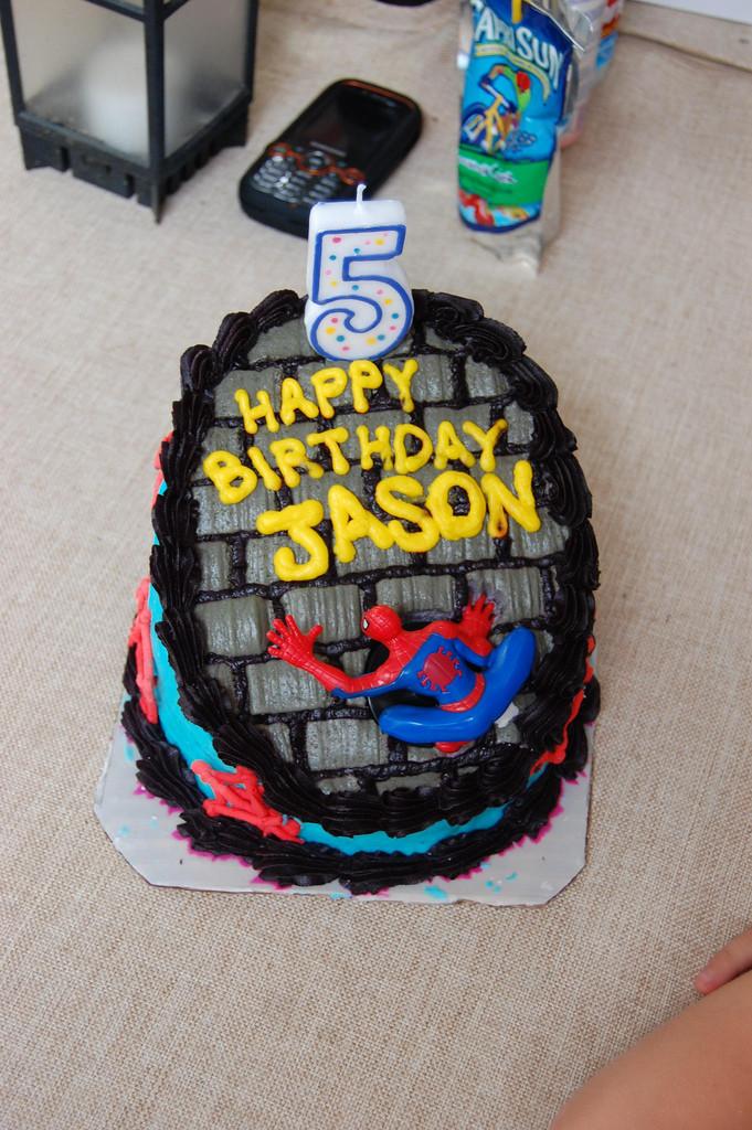 Best ideas about Happy Birthday Jason Cake . Save or Pin Happy Birthday Jason Spiderman birthday cake Now.