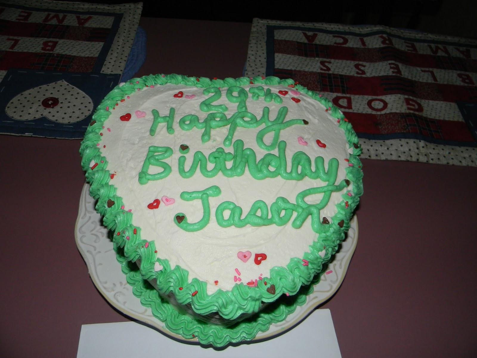 Best ideas about Happy Birthday Jason Cake . Save or Pin Happy Clean Living Happy 29th Birthday Jason Now.
