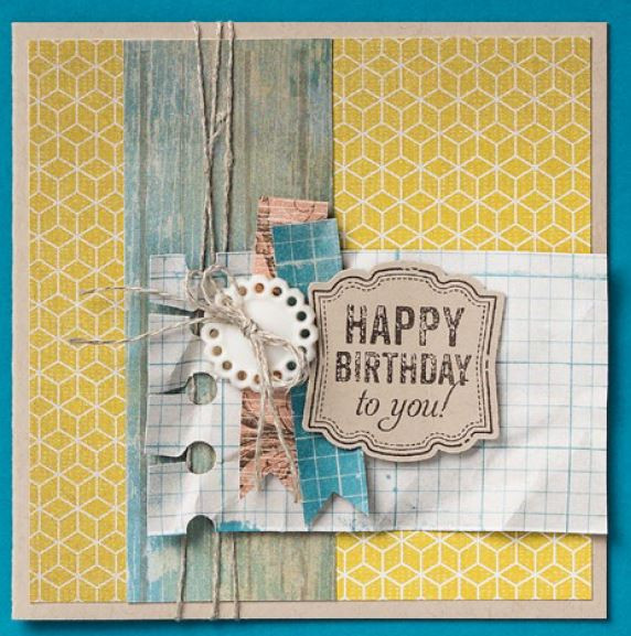 Best ideas about Happy Birthday Shabby Chic . Save or Pin Happy Birthday Card – sneak peek Now.