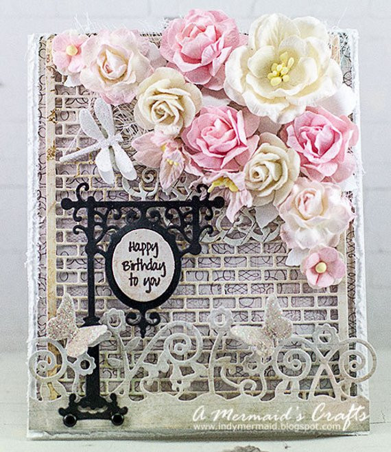 Best ideas about Happy Birthday Shabby Chic . Save or Pin Shabby Chic Happy Birthday Card Now.