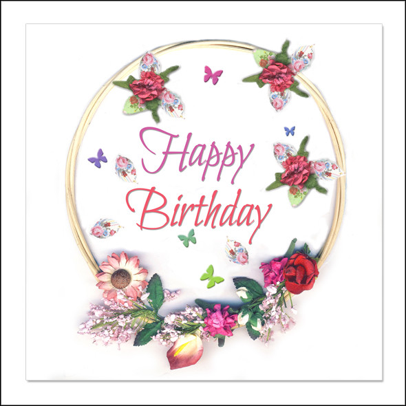 Best ideas about Happy Birthday Shabby Chic . Save or Pin Shabby Chic Mixed Media Cards Wholesale Greeting Cards Now.
