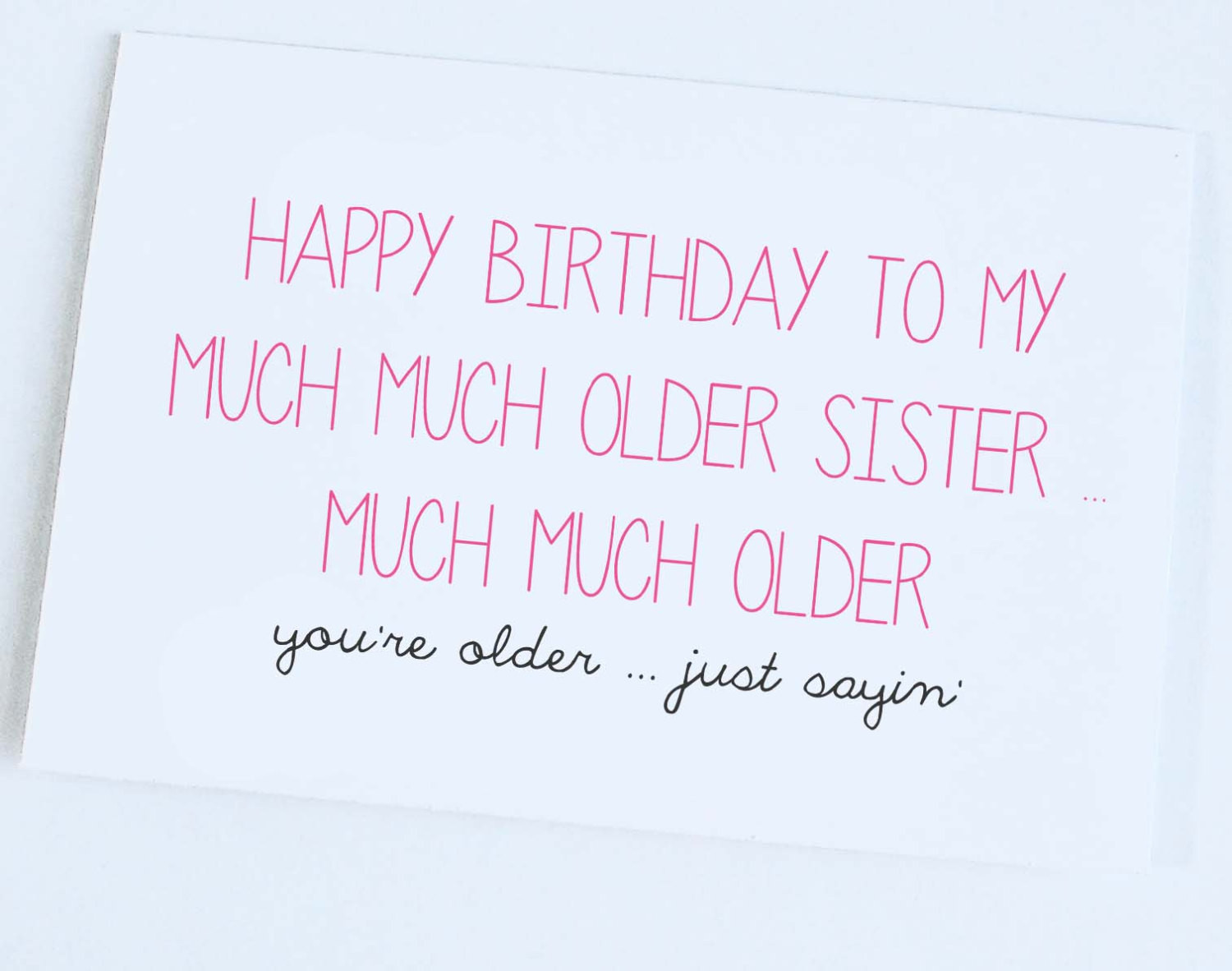 Best ideas about Happy Birthday Sis Funny Quotes . Save or Pin Happy Birthday From Big Brother Funny Sister Quotes Now.