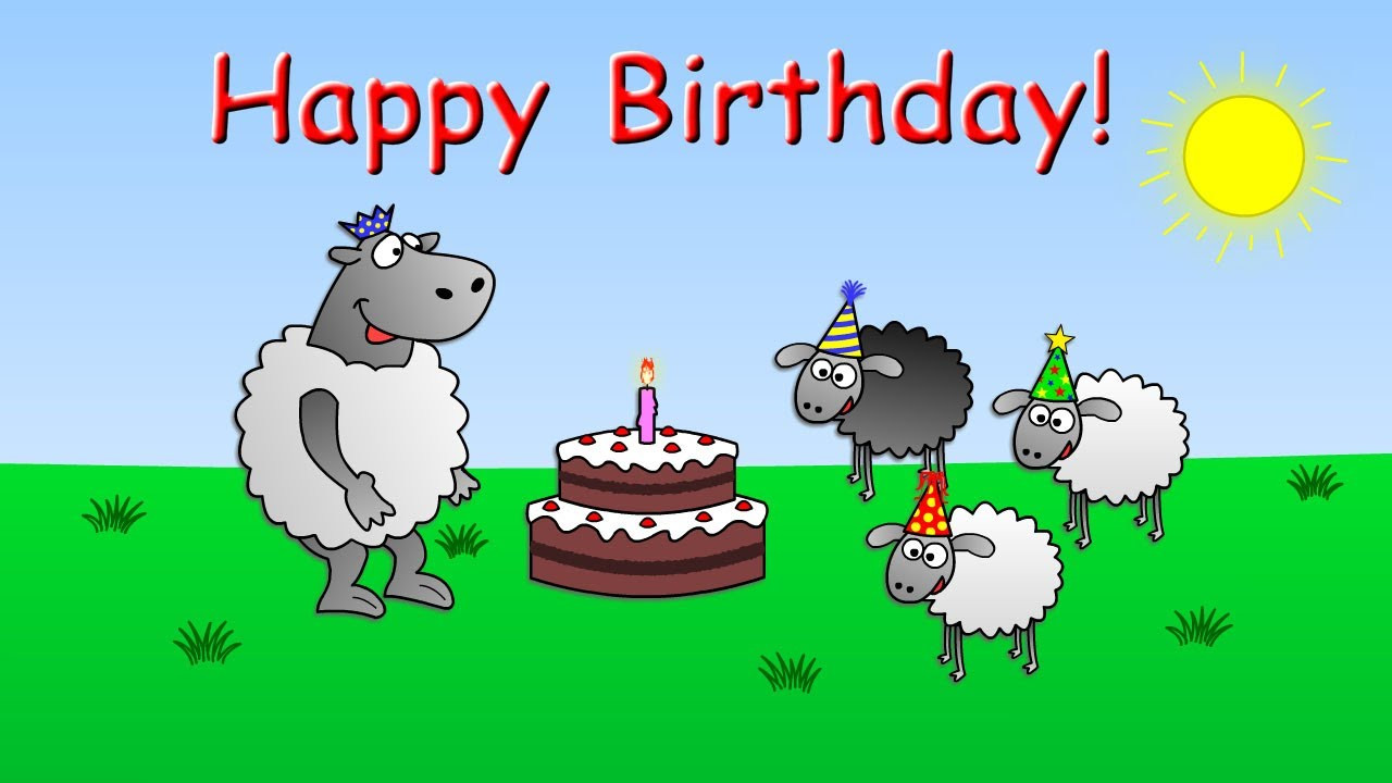 Best ideas about Happy Birthday Video Funny . Save or Pin Happy Birthday funny animated sheep cartoon Happy Now.