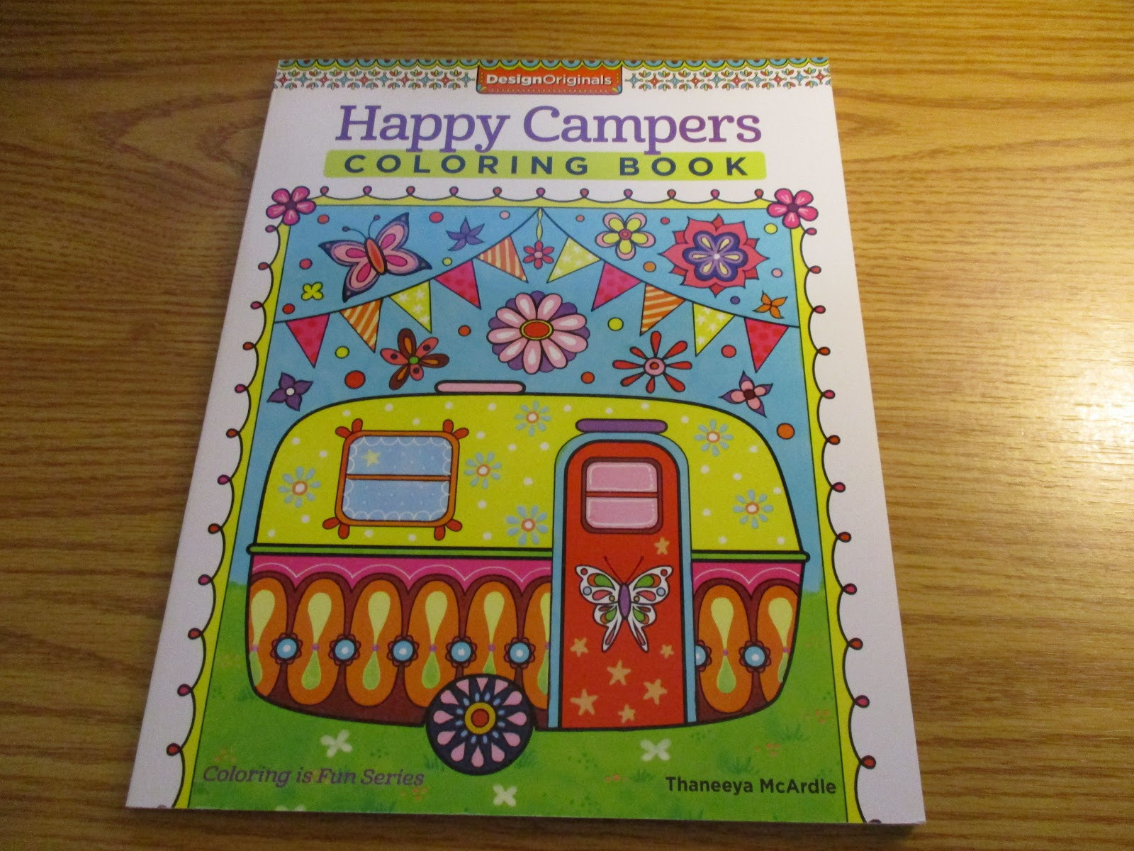 Happy Campers Coloring Book  Missys Product Reviews Happy Campers Coloring Book by