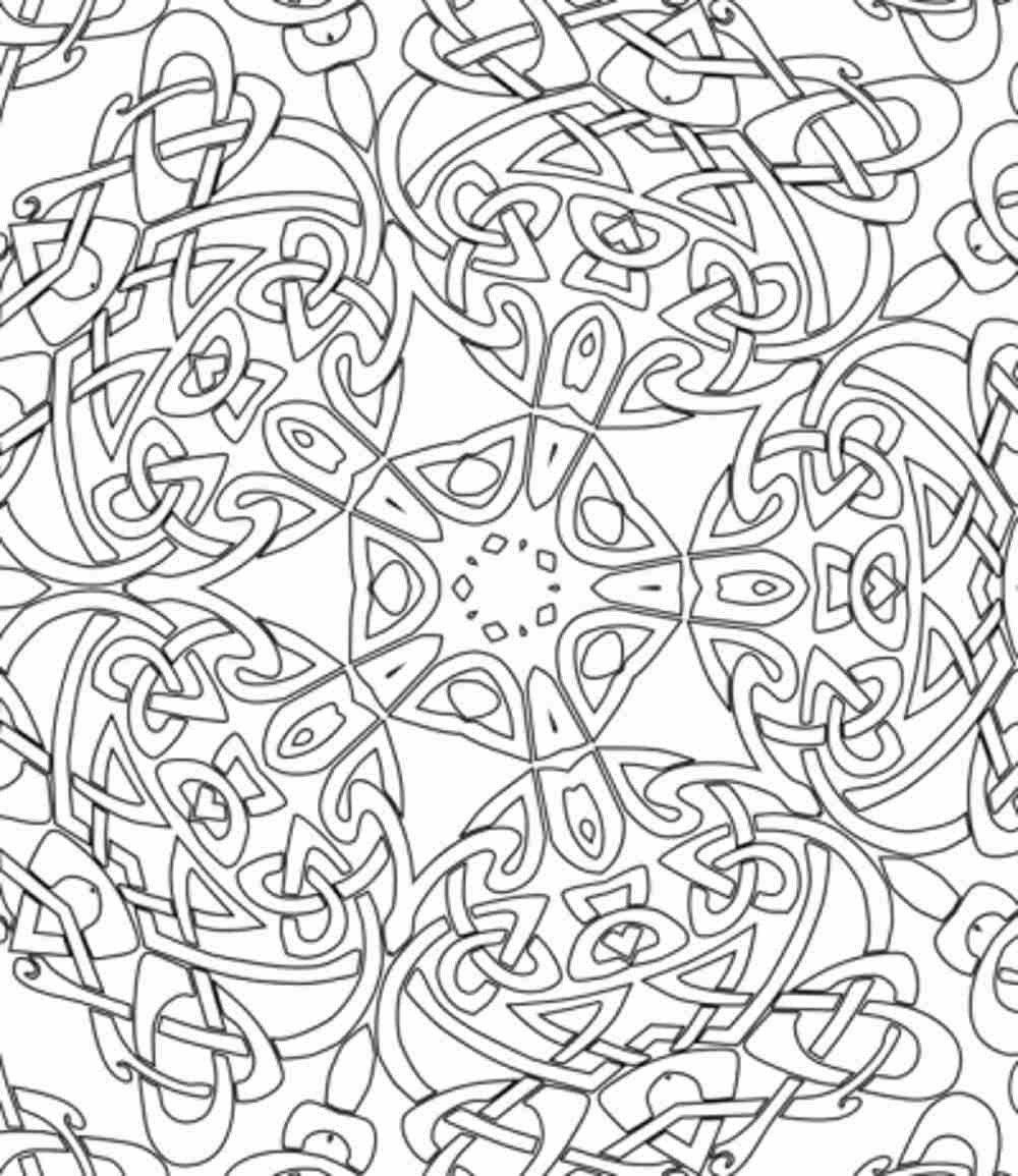 Hard Printable Coloring Pages  difficult coloring pages free
