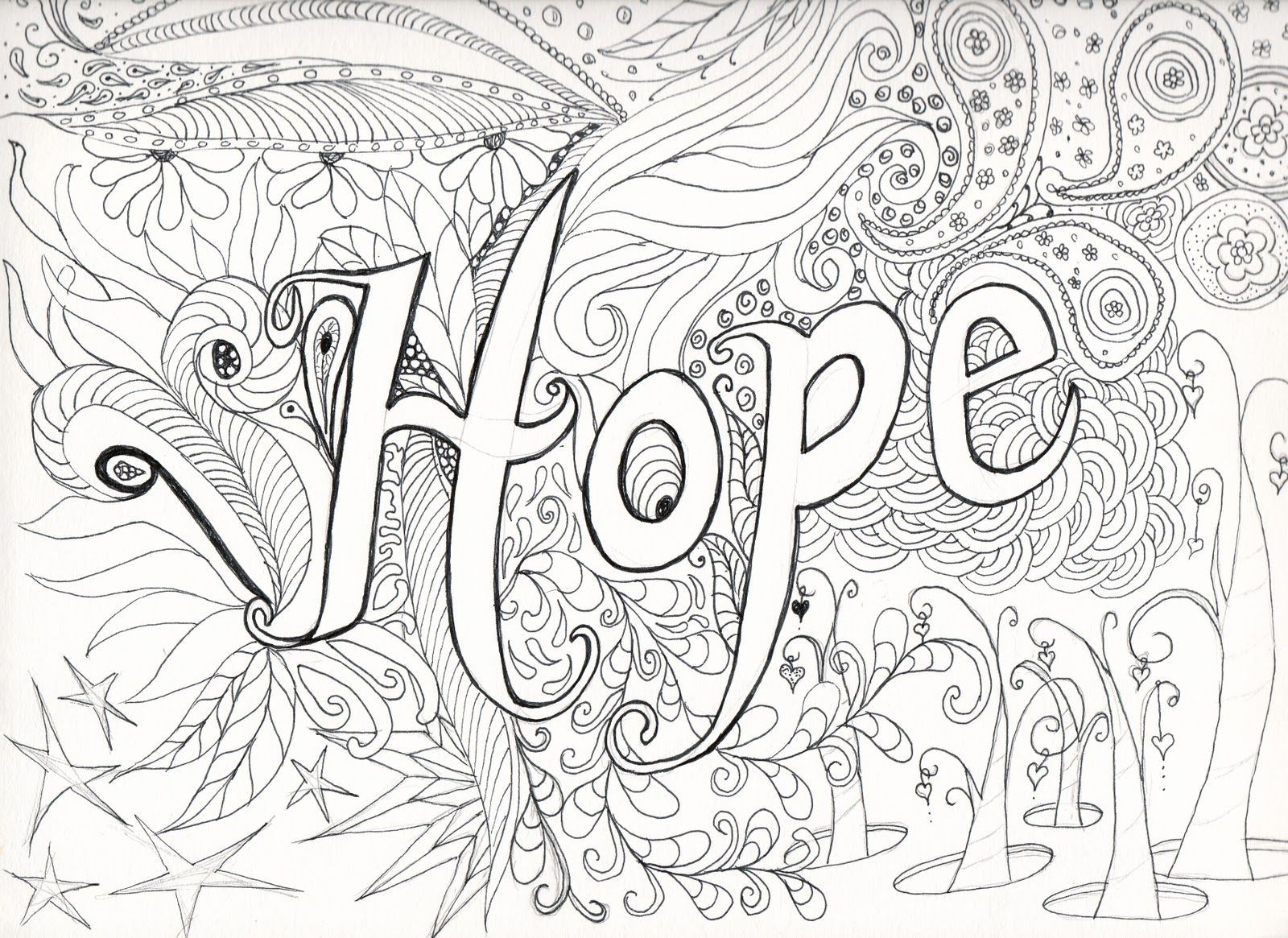 Hard Printable Coloring Pages  Printable Difficult Coloring Pages Coloring Home