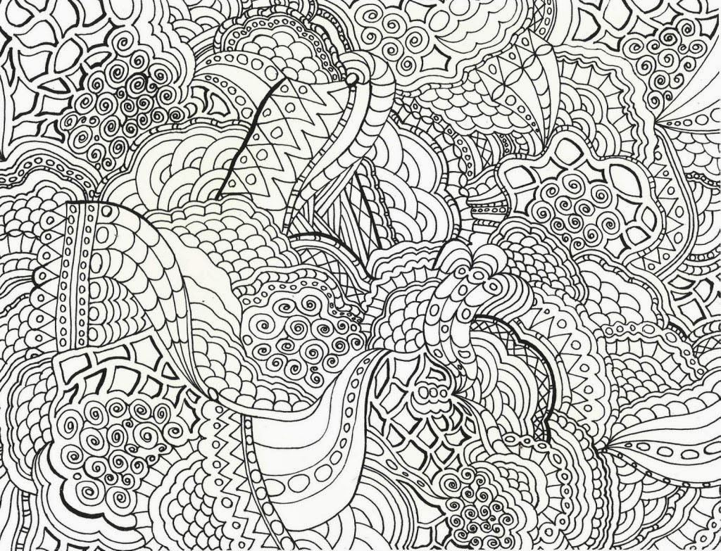 Hard Printable Coloring Pages  16 printable difficult coloring pages Print Color Craft