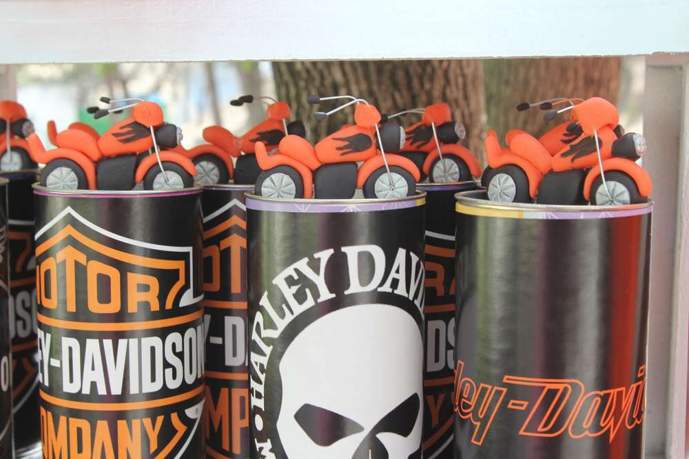 Best ideas about Harley Davidson Birthday Decorations . Save or Pin Harley Davidson Theme Party Operation18 Truckers Now.