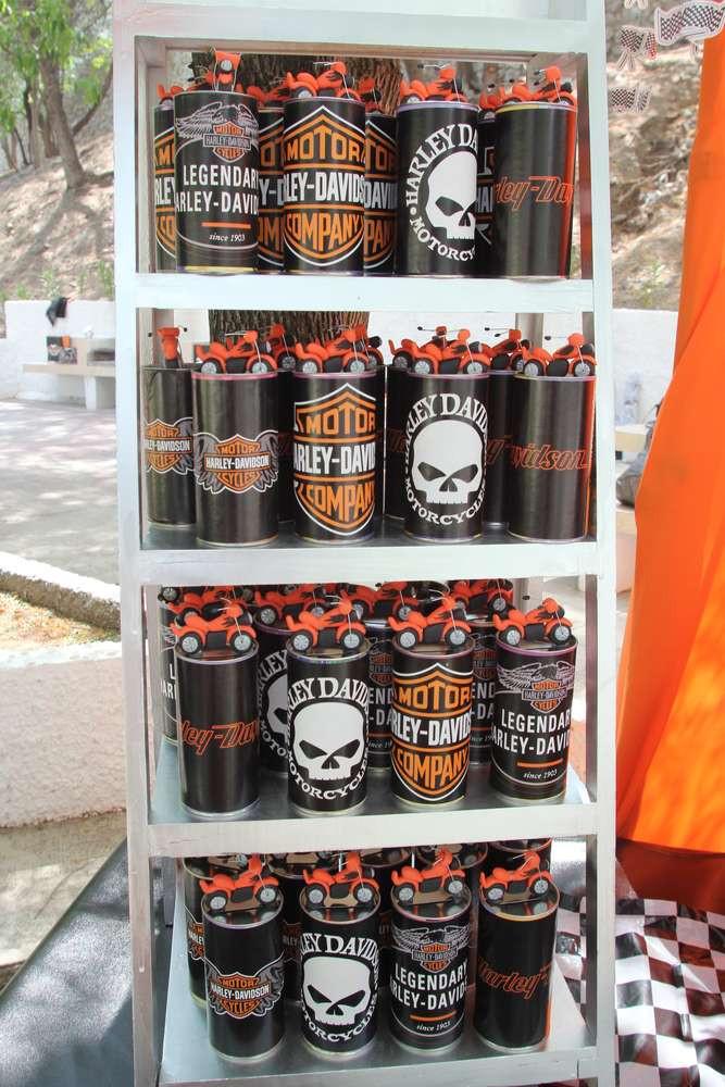Best ideas about Harley Davidson Birthday Decorations . Save or Pin Harley Davidson Birthday Party Ideas Now.