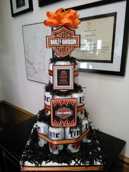 Best ideas about Harley Davidson Birthday Decorations . Save or Pin Harley Davidson Party Ideas for Young and Old Now.