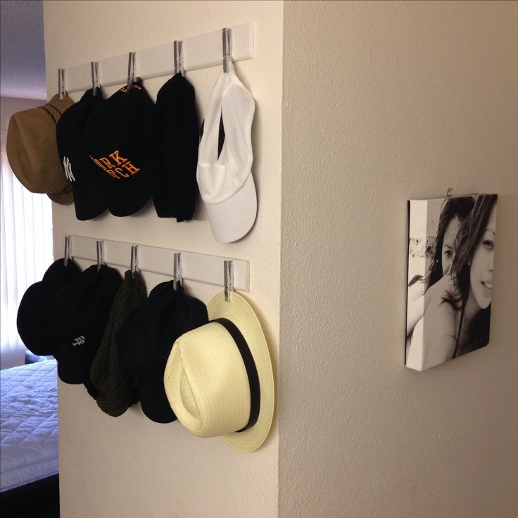 Best ideas about Hat Racks DIY . Save or Pin 8 best images about Hat Rack Hack on Pinterest Now.