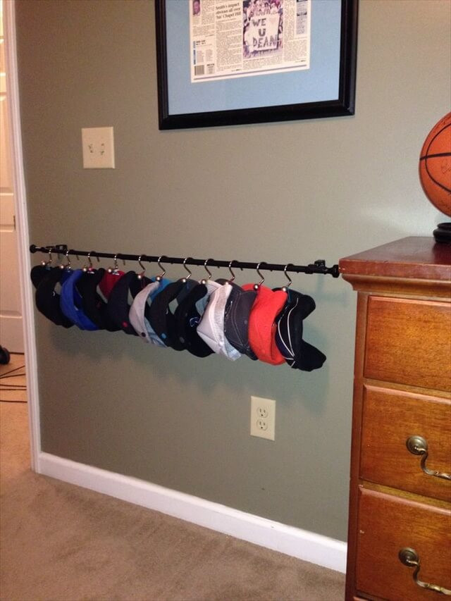 Best ideas about Hat Racks DIY . Save or Pin 14 DIY Hat Racks Now.