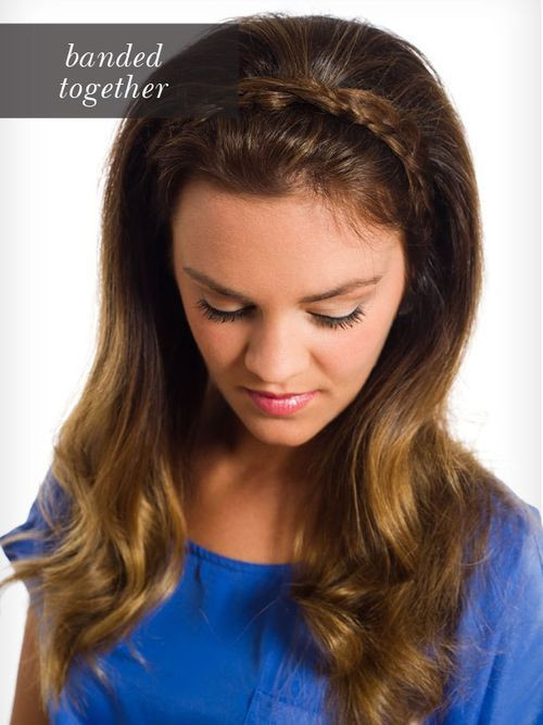 Headband Braids Hairstyles  40 Cute and fortable Braided Headband Hairstyles