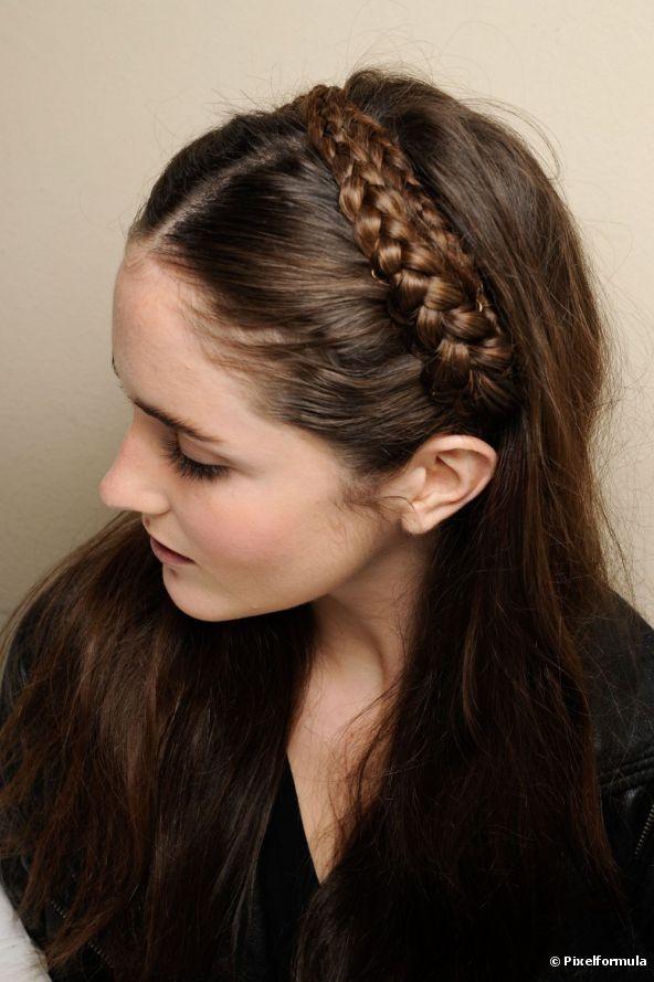 Headband Braids Hairstyles  23 70s Inspired Hairstyles