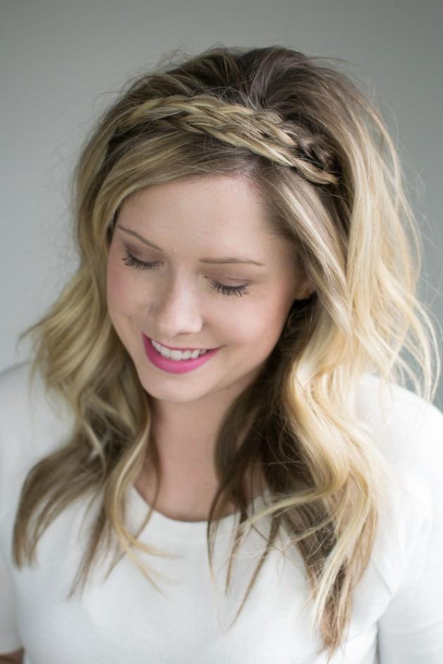 Headband Braids Hairstyles  The double braided headband 2 ways to style it – The