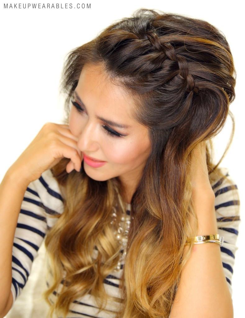 Headband Braids Hairstyles  3 Easy Peasy Headband Braid Hairstyles for Lazy Girls