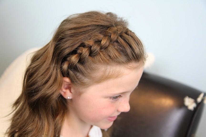 Headband Braids Hairstyles  Dutch Lace Braided Headband Braid Hairstyles