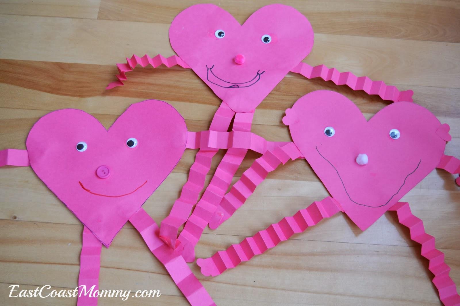 Heart Craft Ideas For Preschoolers  East Coast Mommy Preschool Craft Heart Person