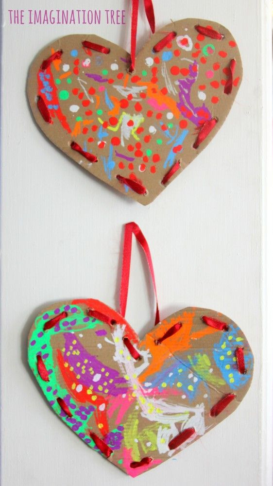 Heart Craft Ideas For Preschoolers  73 best Kindergarten Valentine s Day Activities images on