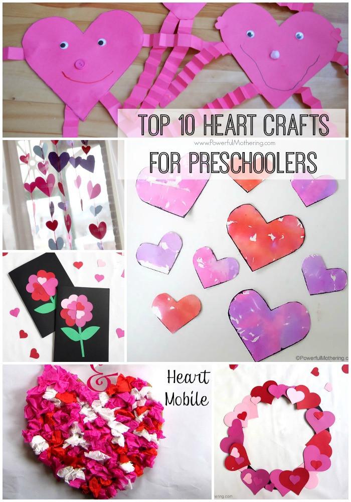Heart Craft Ideas For Preschoolers  Top 10 Heart Crafts for Preschoolers