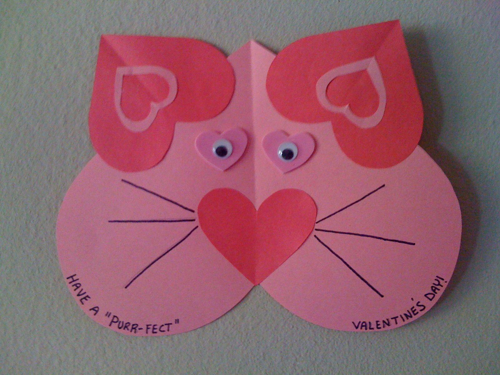 Heart Craft Ideas For Preschoolers  Valentine s craft for kids easy craft for preschooler