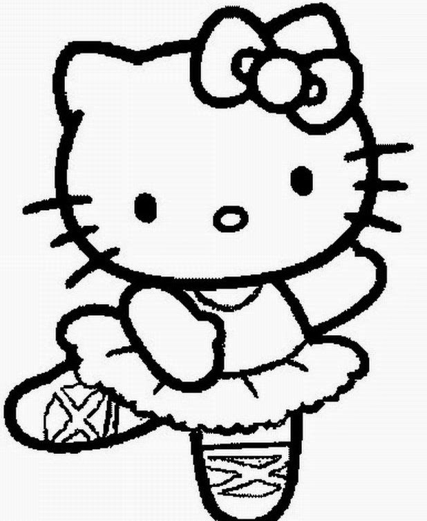 Hello Kitty Halloween Coloring Pages For Kids  20 Free Printable Hello Kitty Coloring Pages Fit To Print