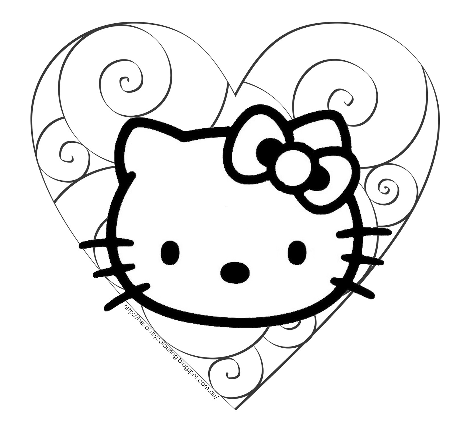 Hello Kitty Halloween Coloring Pages For Kids  Hello Kitty Halloween Coloring Pages Bestofcoloring
