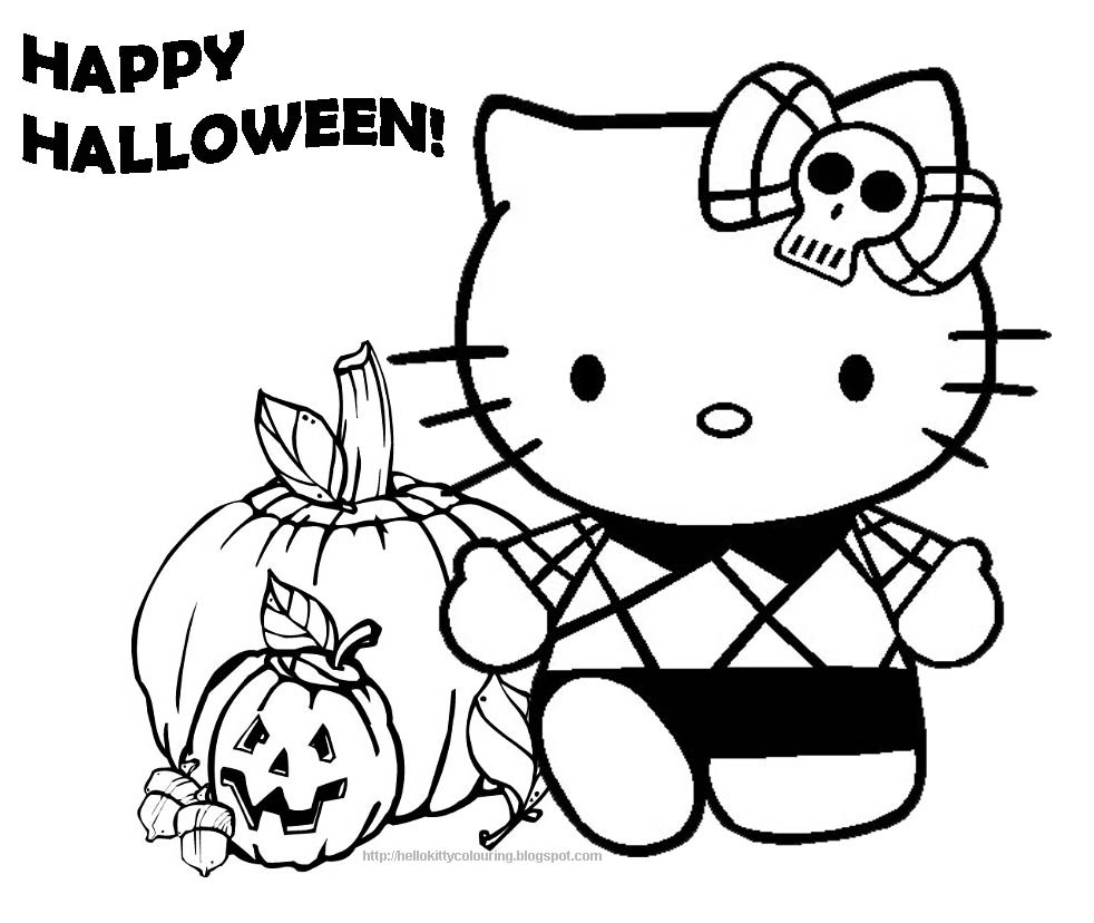Hello Kitty Halloween Coloring Pages For Kids  40 Hello Kitty Which Are Pretty SloDive