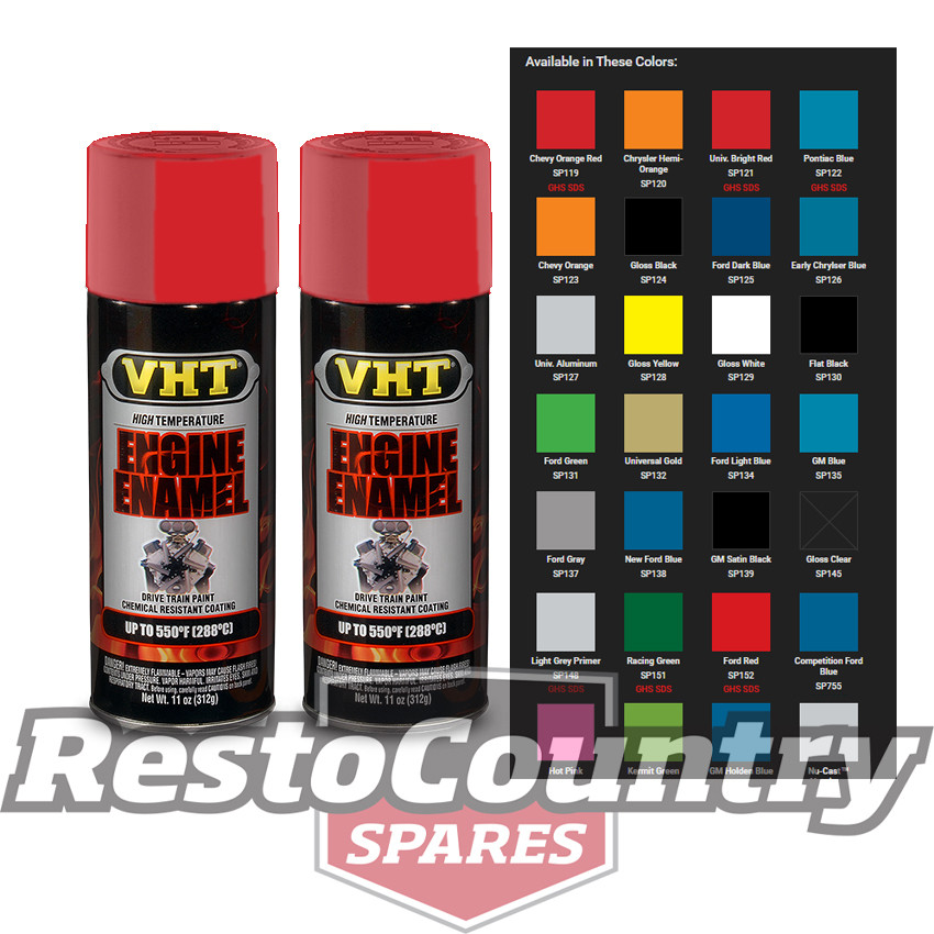 Best ideas about High Heat Paint Colors . Save or Pin VHT High Temperature Spray Paint ENGINE ENAMEL BRIGHT RED Now.